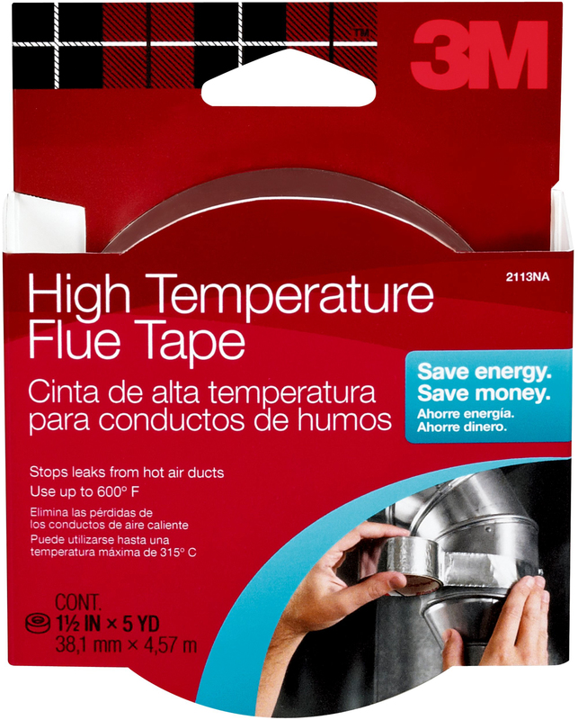 2113 1.5 IN. X15 FT. HITEMP FLUE TAPE