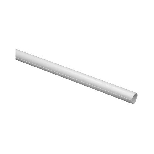 SHOWER ROD COVER, 72 IN., WHITE, PACK OF 12