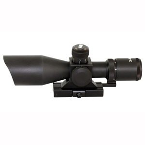 3-9X40 DUAL ILLUMINATED TACTICAL SCOPE/QRM/MIL-DOT