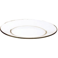 PLATE ROUND SERVING 13IN