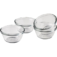 Anchor Hocking 81672L11 Custard Cup, 6 oz, Glass, Clear