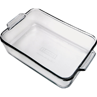 Anchor Oven Basics Square Cake Dish 8 in L, Glass, Clear