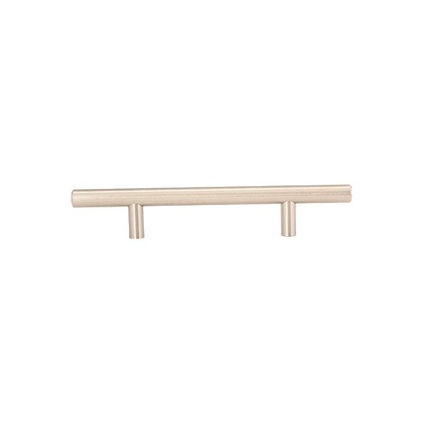 ANVIL MARK� CABINET PULL, 7 IN., 3-3/4 IN. CENTER TO CENTER, SATIN NICKEL, 5 PER PACK