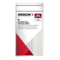 Arrow AP5 All-Purpose Glue Stick, 1/2 in Dia X 4 in L, Clear