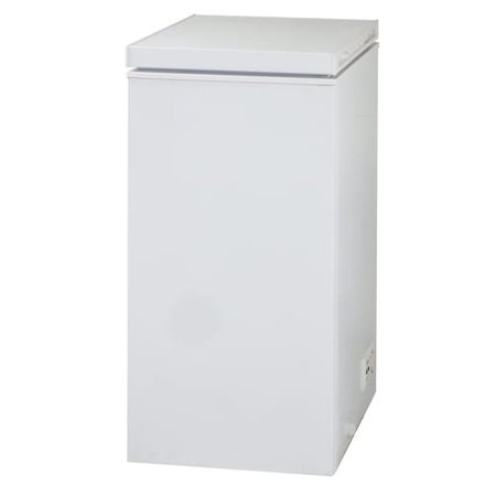 AVANTI CF24Q0W WHITE 2.4CF CHEST FREEZER WITH SINGLE FLIP