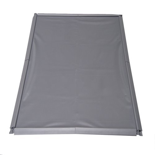 Park Smart® Clean Park® Oil Drip Mat 3-feet x 4-feet Gray
