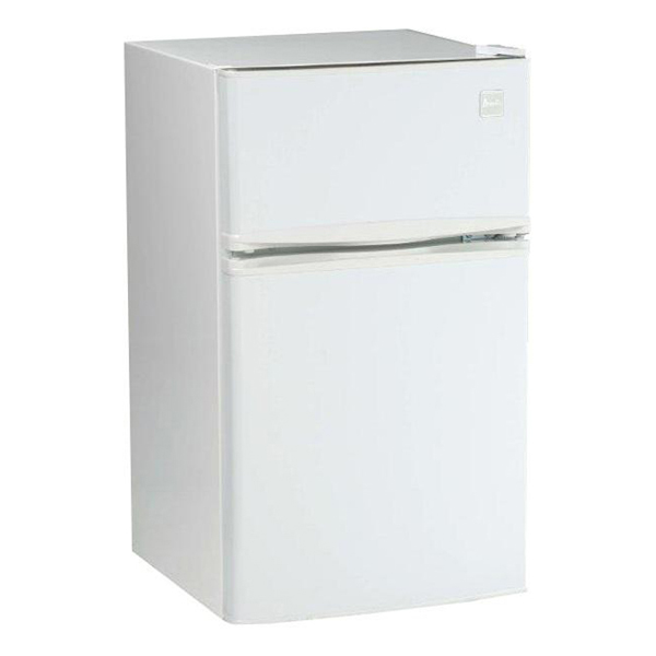 3.1 cu.ft refrigerator, two door, white