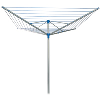 Strata CS78165 Outdoor Dryer, 164 ft L Drying Area, Heavy Duty Aluminum, Pvc Coated Clothesline