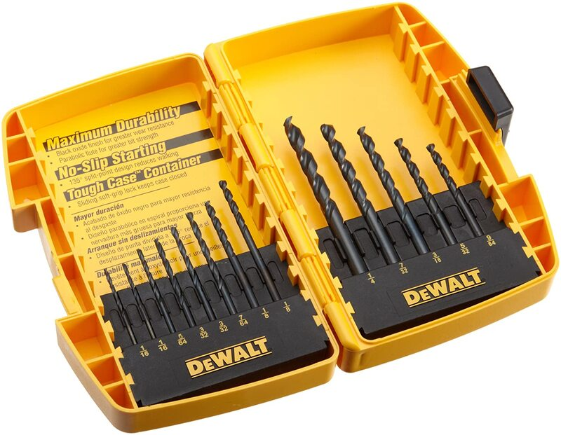 DW1163 13PC BLK OX DRILL BIT SET