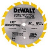 DW9055 5-3/8 IN. 16T SAW BLADE