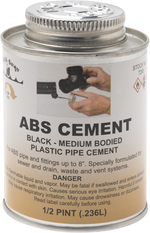 07265 8 OZ ABS CEMENT
