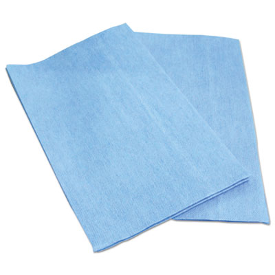 Foodservice Wipers, Blue, 13 x 21, 150/Carton