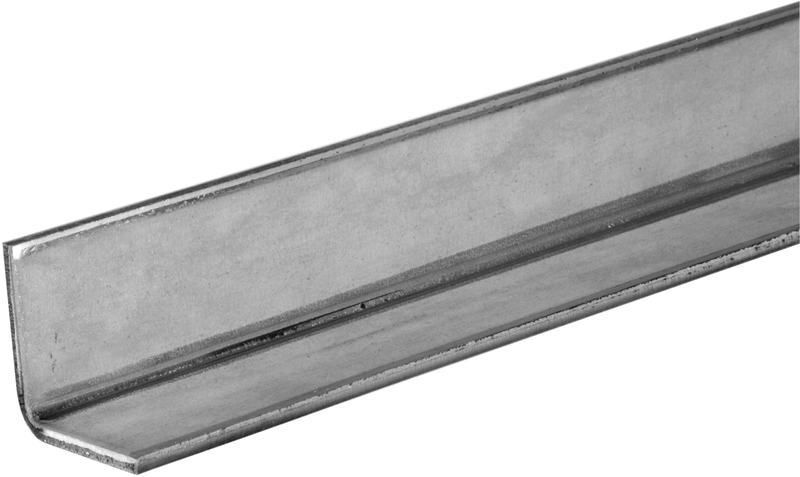 11128 1-1/4X48 IN. ZINC PLATED STEEL ANGLE