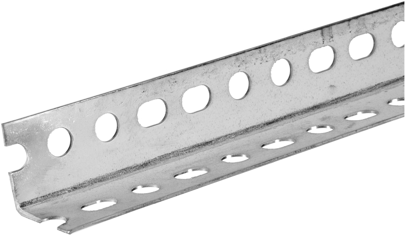 11110 1-1/2X4 FT. ZINC PLATED SLOTTED ANGLE