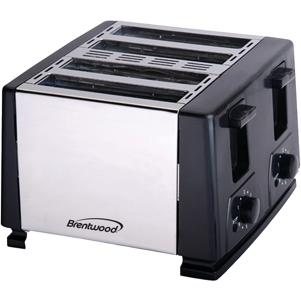 Brentwood Appliances TS-284 4-Slice Toaster (Black)