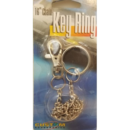 CHROME KEY SNAP WITH CHAIN