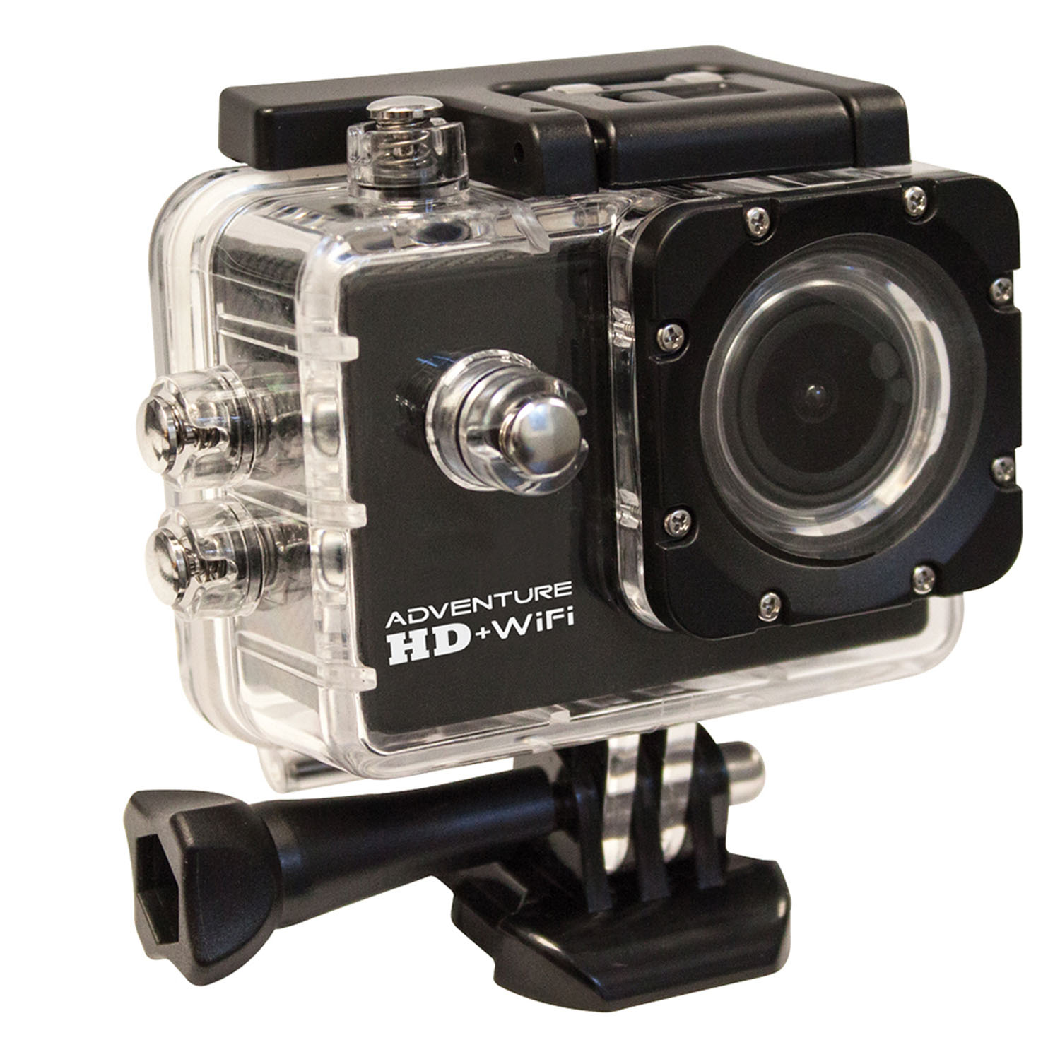 "W5210 WASP 12 MEGA PIXEL WATERPROOF (98 FEET) SPORTS ACTION CAMERA WITH 150 DEGREE WIDE ANGLE LENS, 1.5"" LCD DISPLAY & WI-FI"