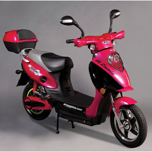 Scooter Bike - Electric - Magenta