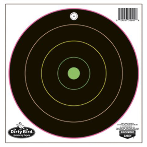 "BW Casey Dirty Bird MultiColor 10-12"" Bull's-eye Trgts-10 Pk"