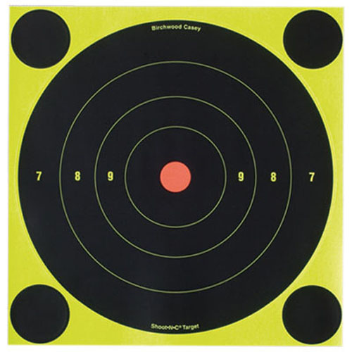 Birchwood Casey Shoot-N-C 8 inch Round Target 30 Sheet Pack