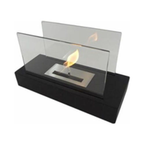 Incendio Tabletop Fireplace - Black