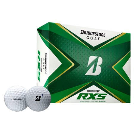 Bridgestone Tour B RXS Golf Balls-Dozen White