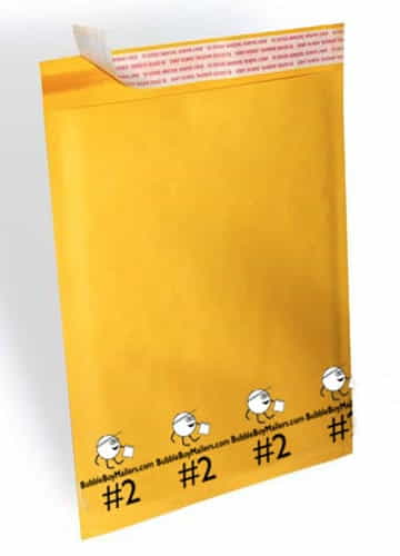 "(100) No. 2 BubbleBoy 8.5"" x 12"" Self-Seal Bubble Mailers"