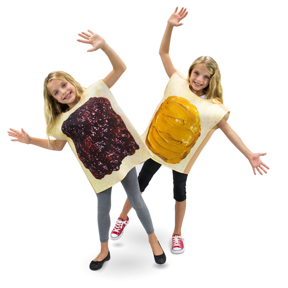 Peanut Butter and Jelly Children's Costume, 10-12