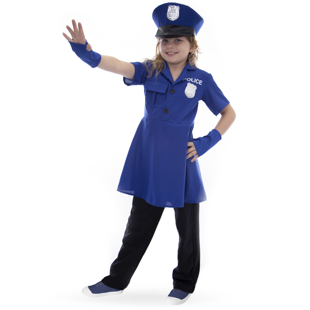 Proud Police Officer Costume, XL