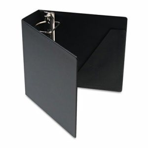 "SuperStrength Locking Slant-D Ring Binder, 3"" Cap, 11 x 8 1/2, Black"
