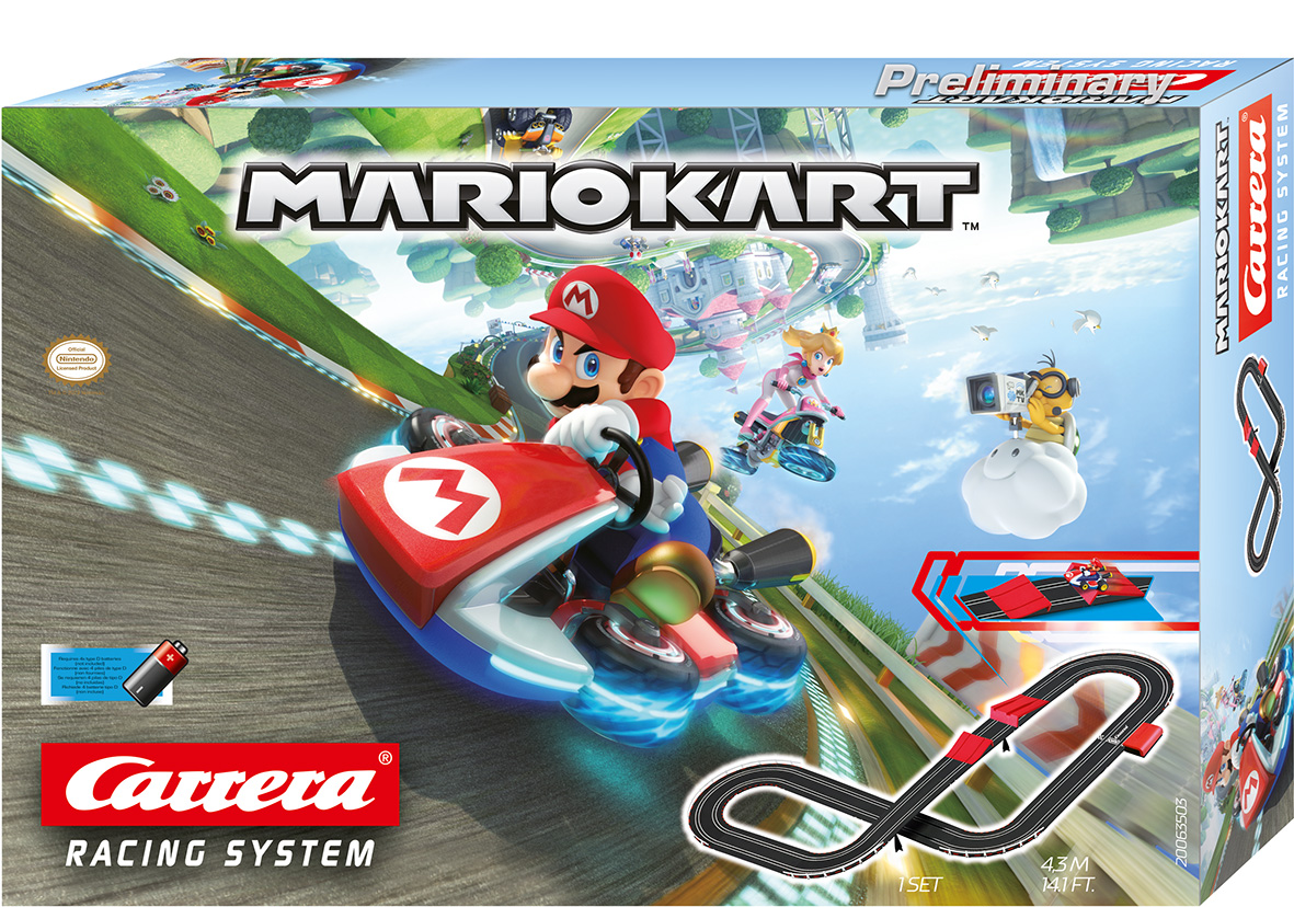 CARRERA 20063503 MARIOKART 1/43 RACING FUN WITH SPECIAL TRACK