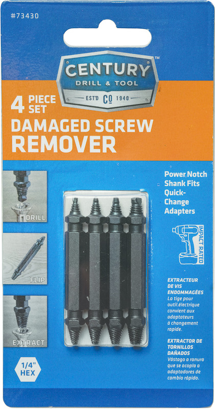 73430 DAMAGED SCRW REMOVER SET