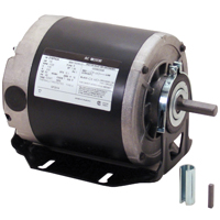 Century GF2024 Resilient Base Split Phase Electric Motor, 115 VAC, 5.4 A, 1/4 hp, 1725 rpm