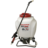 Chapin 63985 Powered Backpack Garden Sprayer, 4 gal