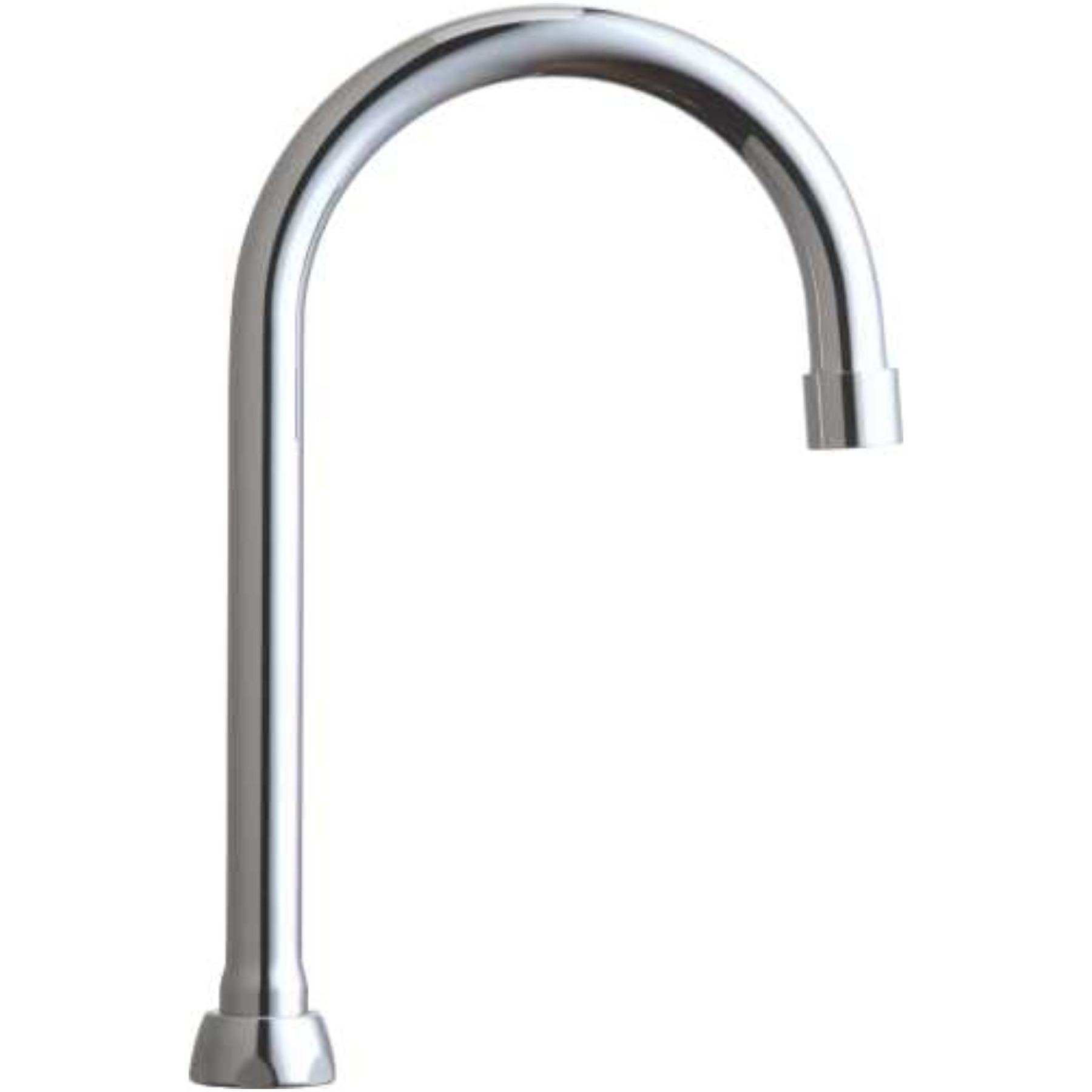 Only Chicago Faucets Ecast Lead Free Gooseneck Spout 9 3 4 In Tall 3 8 In