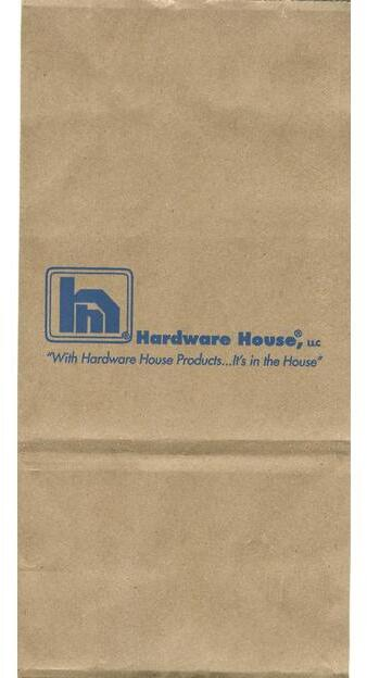 6# HARDWARE HOUSE NAIL BAG