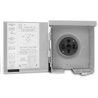 OUTLET PANEL RV PWR OUTDR 50A
