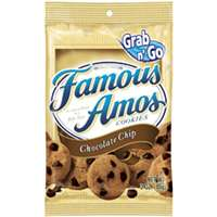 Famous-Amos FACCC6 Choc Chip Cookies, Bag