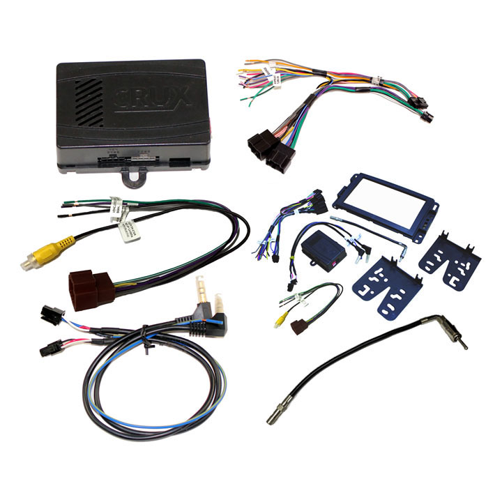 CRUX Radio Replacement w/SWC Retention for GM LAN 29 Bit Vehicles (Dash Kit Included)