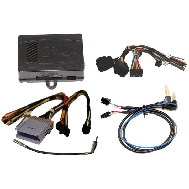 CRUX Radio Replacement w/SWC Retention for GM LAN 11-Bit Vehicles