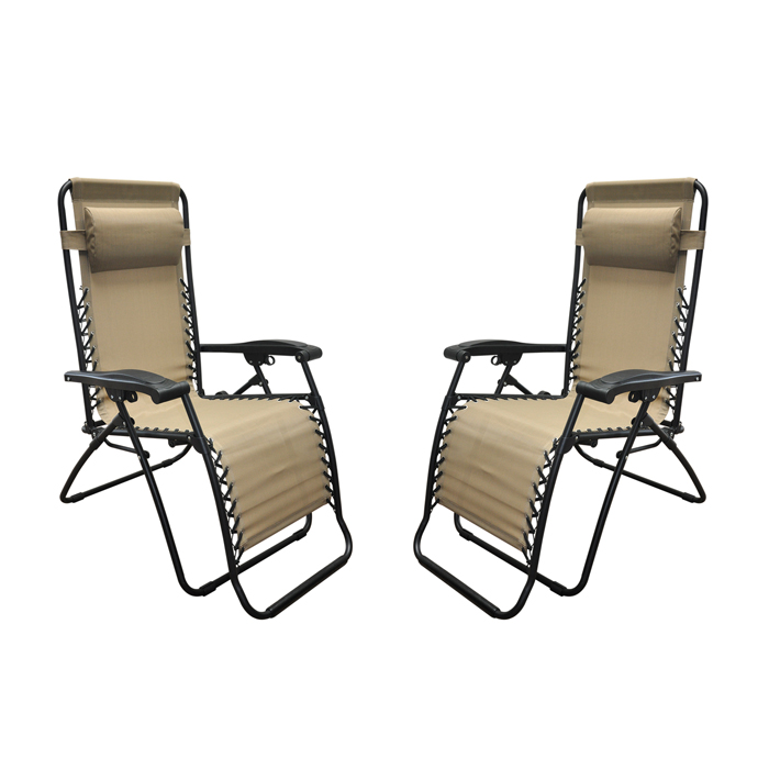 Infinity Zero Gravity Chair Beige (2pk)
