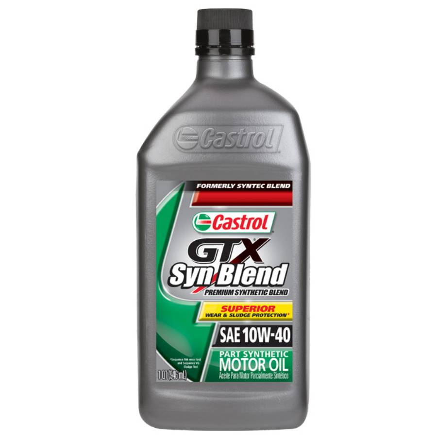 Only Gtx Synblend Motor Oil 10w40 6 Pack