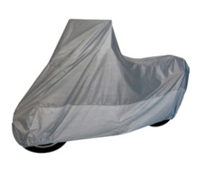 Motorcycle Cover- Heat Shield - Size MC-C - Silver Top / Silver Bottom