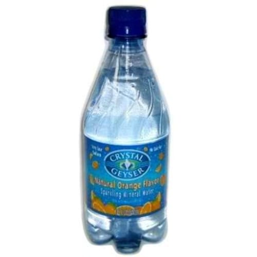 Crystal Geyser Mineral Water Orange (6x4Pack )