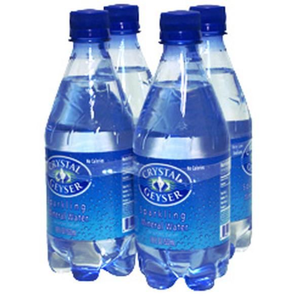Crystal Geyser Mineral Water Plain (6x4Pack )