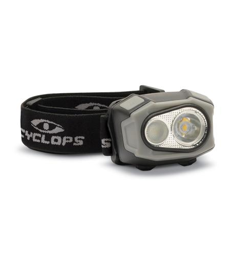 400 Lumen rechargeable LED headlamp