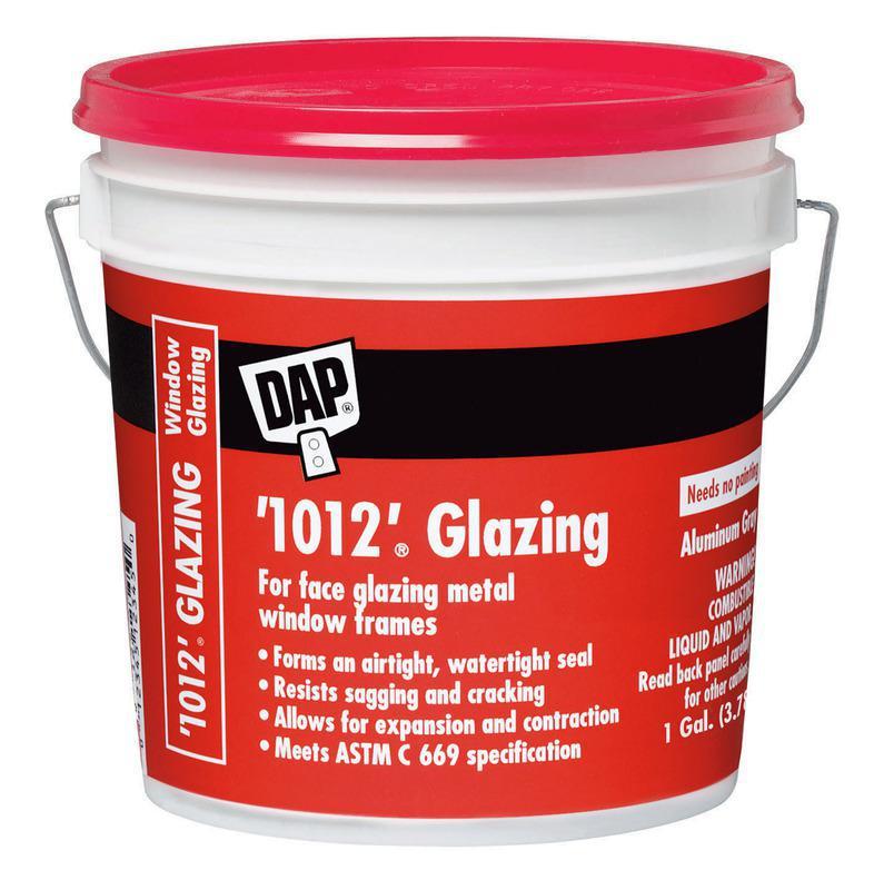 Dap Window Glazing : Only dap  gallon glazing compound