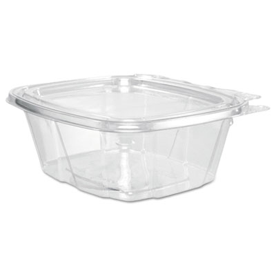 ClearPac Container, 4.9 x 2.5 x 5.5, 16 oz, Clear, 200/Carton