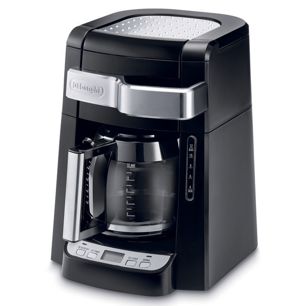 Coffee Makers Auto Drip : Only USD 64.00 Auto Drip Coffee Maker - 12 Cup Program Carafe 044387422123 DCF2212T DeLonghi