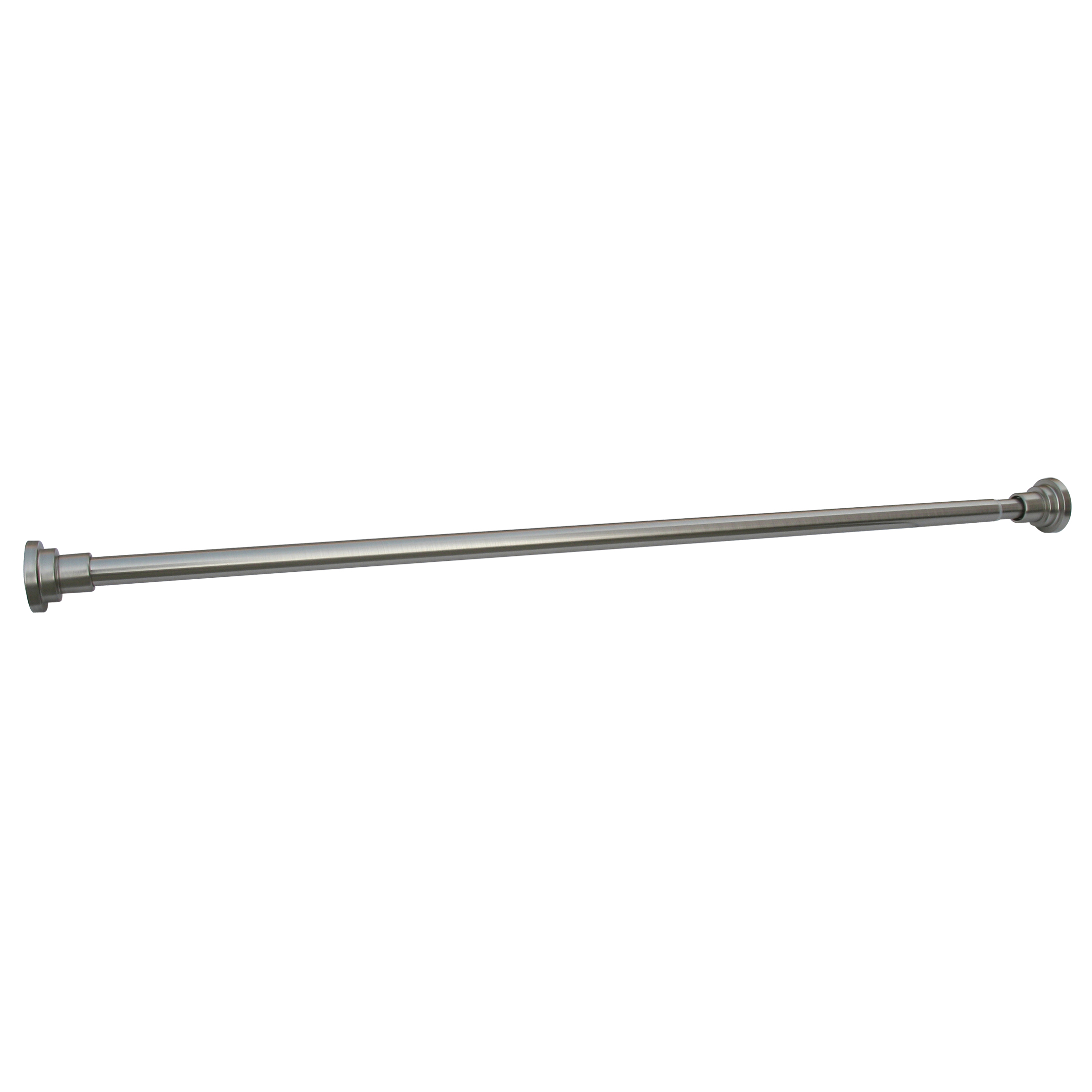 Adjustable Shower Rod, Satin Nickel